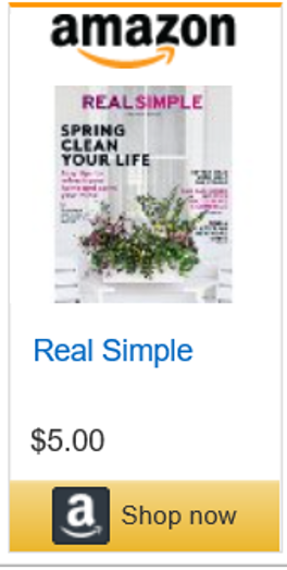 Real Simple Ad